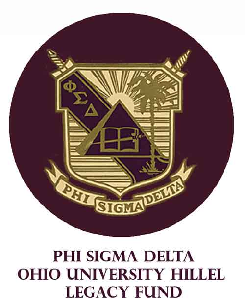 logo for phi sigma delta ohio u hillel legacy fund